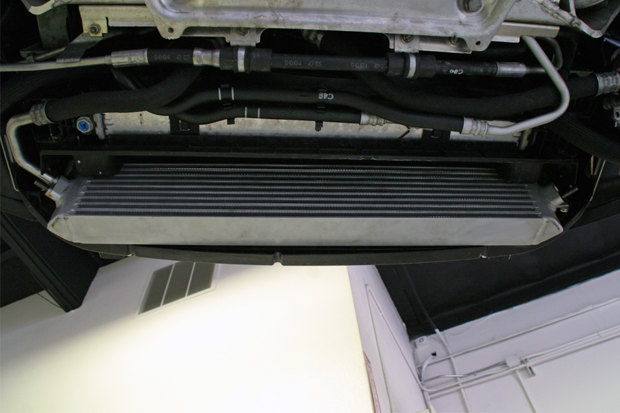 VF oil cooler