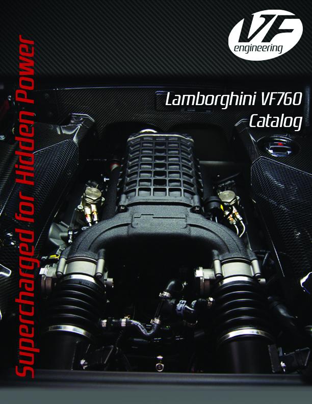 Supercharged lamborghini aventador