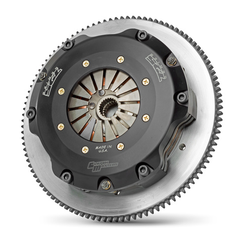 Twin-disc clutch