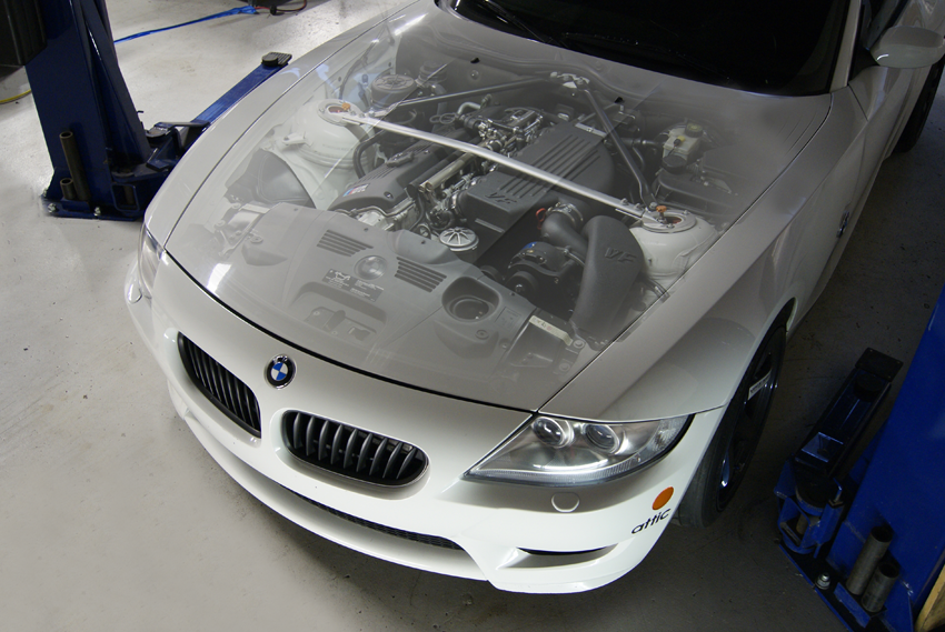 BMW Z4M Supercharger VF570